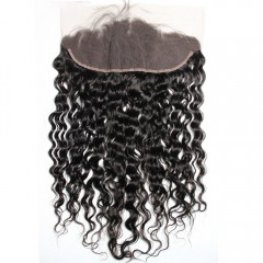 1 PC 13x4 Curly Lace Frontal
