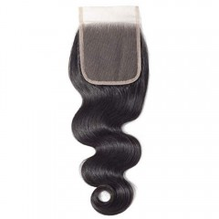 Top Swiss Lace 1 PC 4x4 Body Wave Lace Frontal