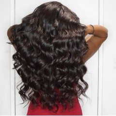 250% Density Body Wave 13x6 Lace Front Human Hair Wig