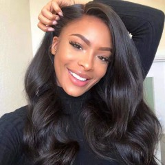 Body Wave Side Part invisible Lace 13x6 Lace Front Wig