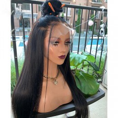 Transparent Lace Straight Full Lace Wig