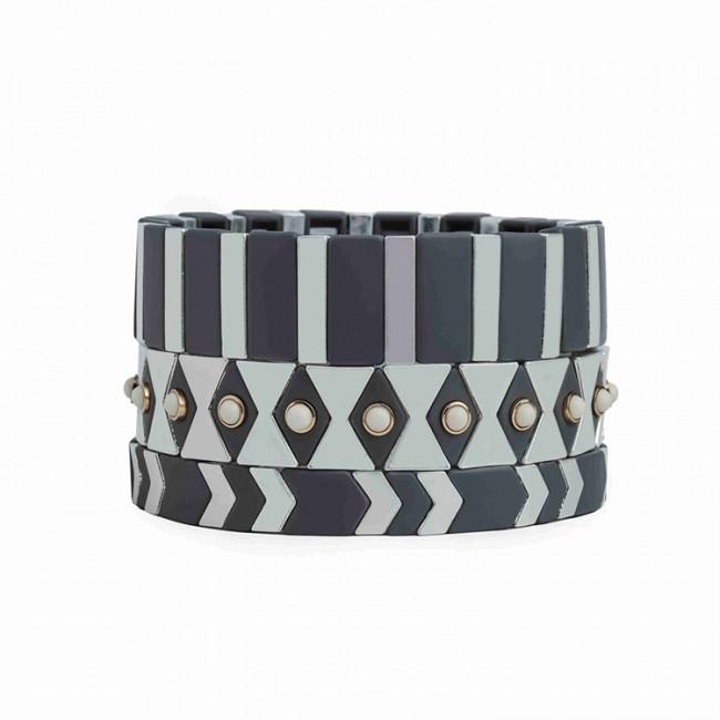 Stylish Fashion Fast Delivery Wholesale Enamel Bracelet Women Jewelry