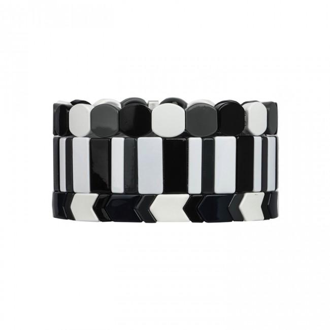 Fresh Friednship 3pcs/set Wholesale Enamel Bracelet Women Jewelry