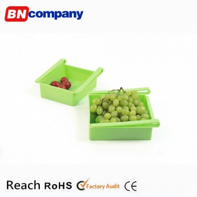 Household Plastic Food-grade PP Fridge Organizer Fridgerator Storage Box