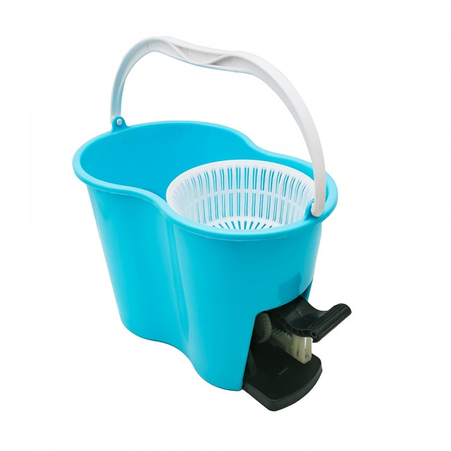 Free Hand Washing Large Cleaning Bucket Spinning Mop with Pedal