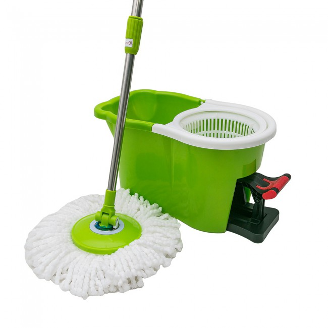 360 degree spin mop with pedal