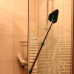 Household floor window bathroom cleaner- 42-88cm telescopic triangle microfiber chenille scrubber brush