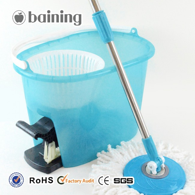 Floor sweeper best quality 360 degree rotating mop with bucket