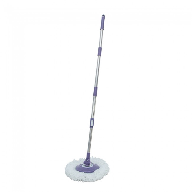Hand press pole  magic mop pole stainless steel 0.35mm